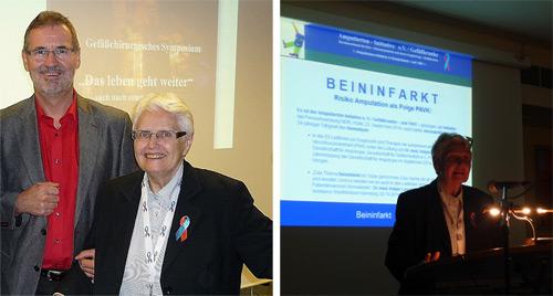 Chefarzt Dr. med. Wolfgang Haacke und Dagmar Gail