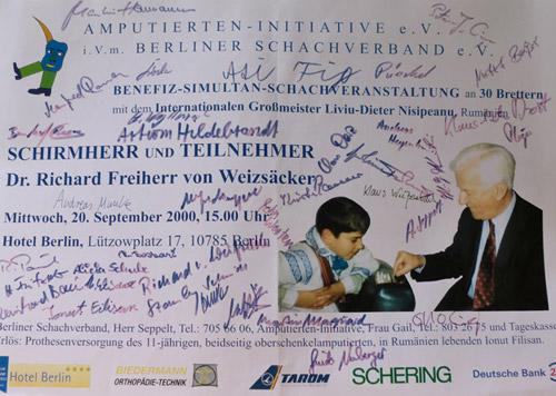 Dr. Richard Freiherr von Weizsäcker, Bundespräsident a.D.