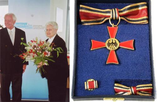 Verdienstkreuz am Bande des Verdienstordens der Bundesrepublik Deutschland