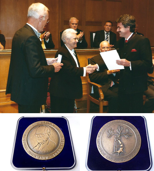 Verleihung der Hohmann-Medaille