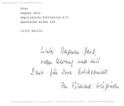 Dr. jur. Richard Freiherr von Weizsäcker